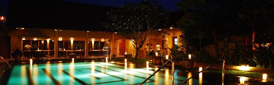 Pool at Jetwing Ayurveda Pavilions, Negombo