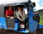 Ride on Three Wheeled Taxis in Sri Lanka